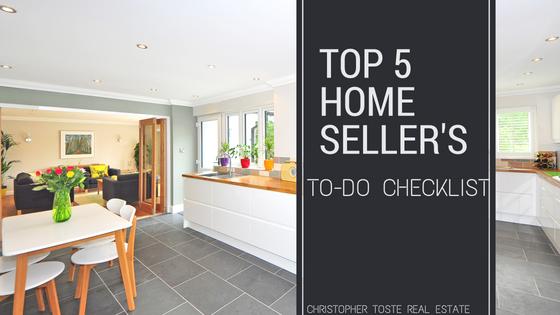 Top 5 Home Seller's To-Do Checklist